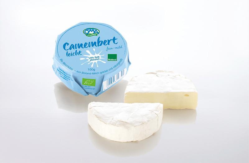 Der leichte Camembert 30%