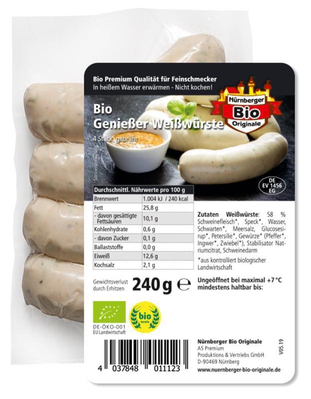 Fränkische Bratwurstschnecke
