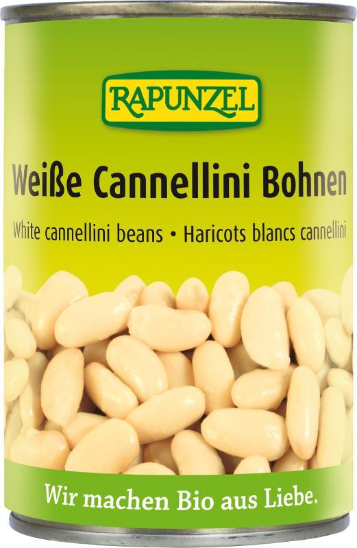 Weiße Cannellini-Bohnen