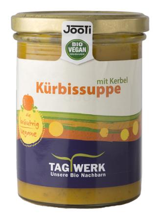 Kürbissuppe mit Kerbel (Tagwerk)