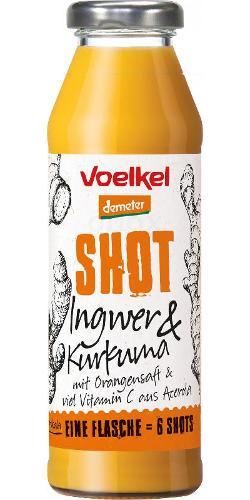 Shot Ingwer Kurkuma - zum Einführungspreis!