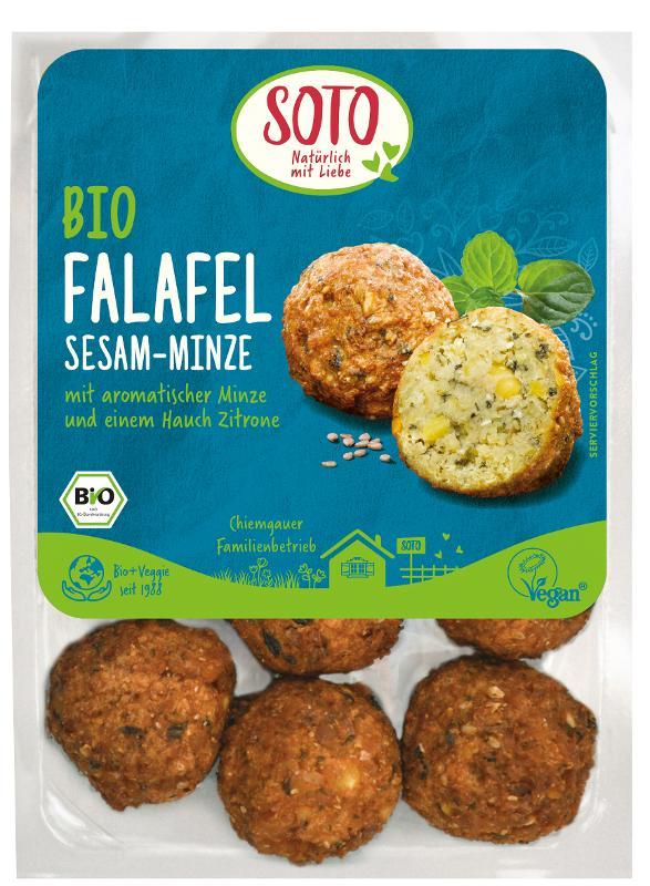 Falafel Sesam-Minze (vegan)