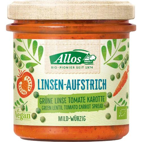 Linsen-Aufstrich Grüne Linse Tomate Karotte
