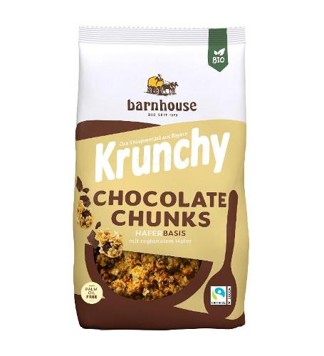 Krunchy & Friends Chocolate Chunks