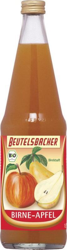 Birne Apfel Saft Flasche