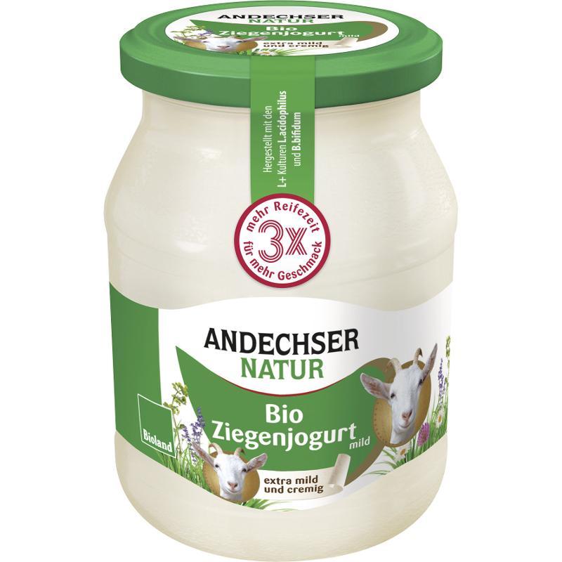 Ziegenjoghurt (500 g im Glas)