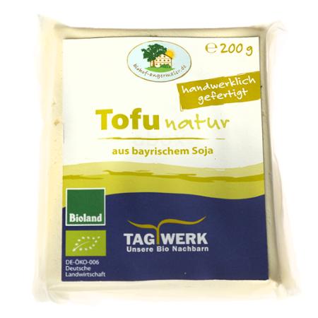 Tofu Natur regional Tagwerk