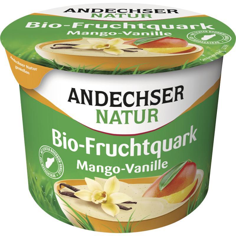 Fruchtquark Mango-Vanille