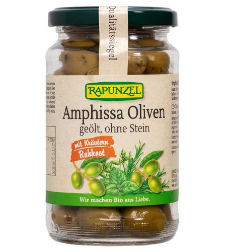 Amphissa Oliven mit Kräutern, ohne Stein