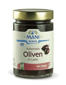 Kalamata Oliven schwarz in Lake