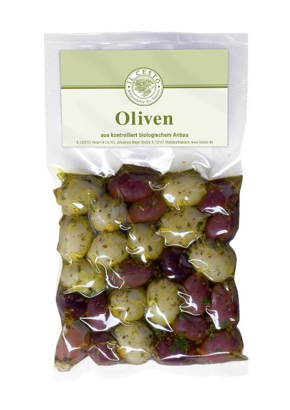 Olivenmix mariniert
