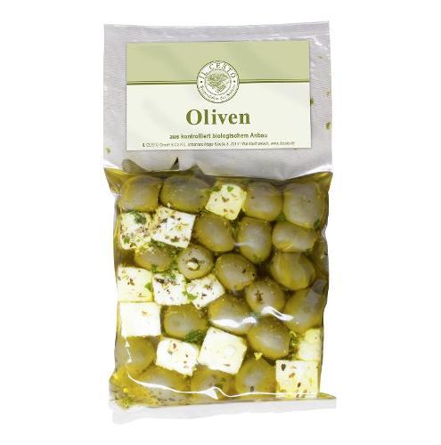 Feta Olivenmix mariniert