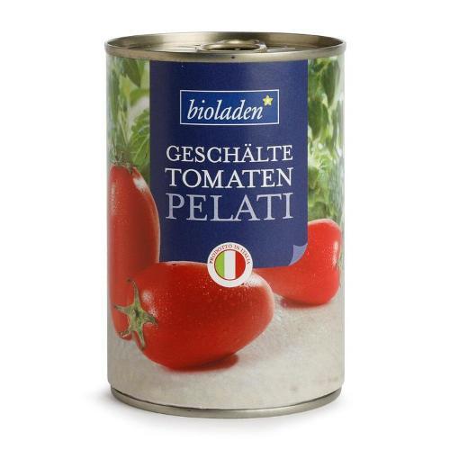 Pelati geschälte Tomaten Bioladen