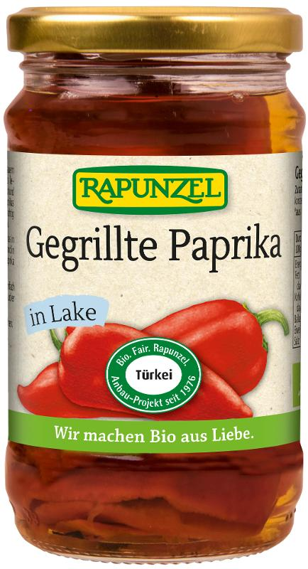 Gegrillte Paprika in Lake