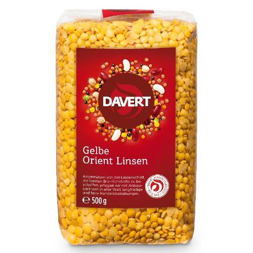 Gelbe Orient-Linsen