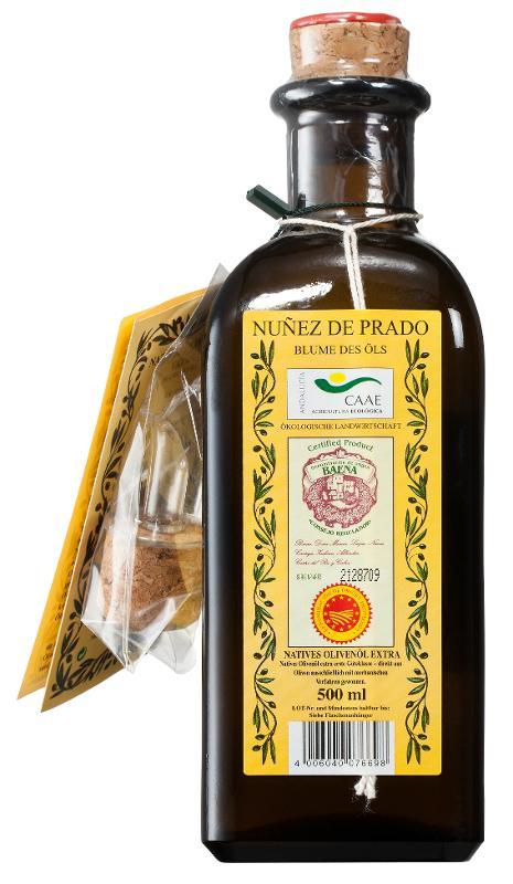 Olivenöl 'Blume des Öls' nativ - wieder lieferbar!