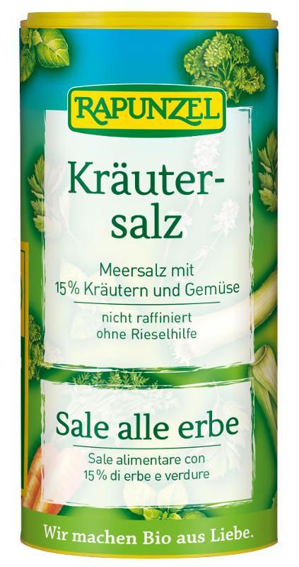 Kräutersalz Rapunzel - Einführungspreis!