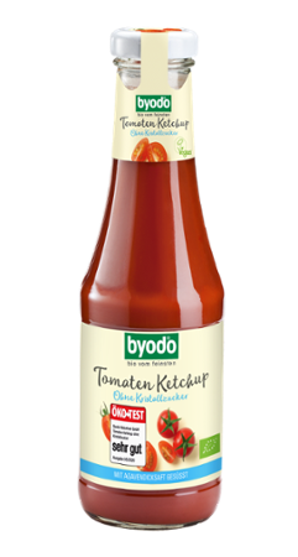 Tomatenketchup ohne Kristallzucker