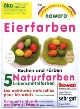 Natur-Ostereierfarben Nawaro