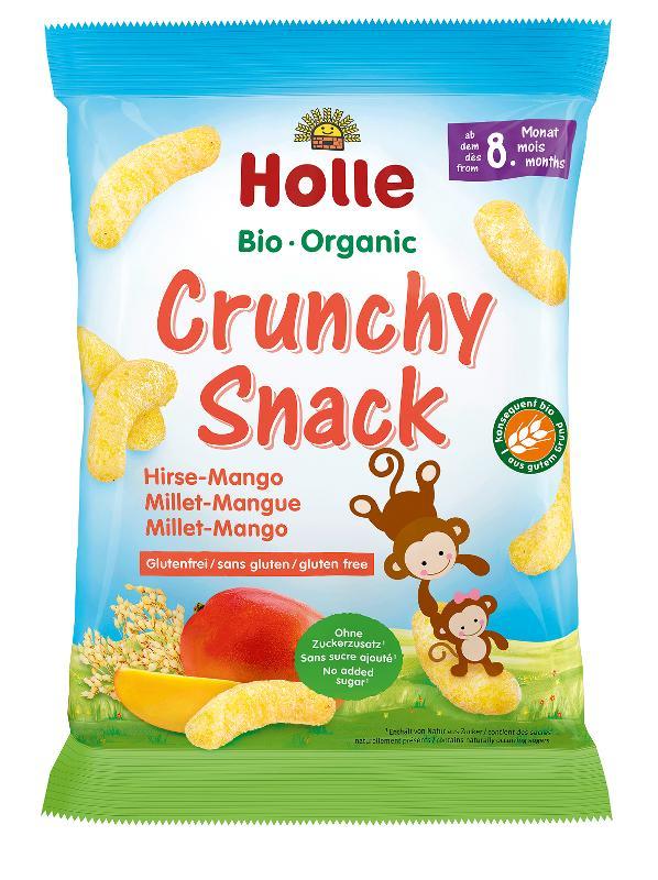 Crunchy Snack Hirse-Mango