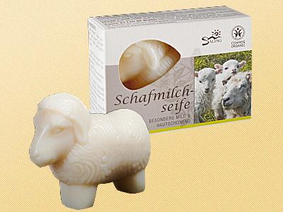 Schafmilchseife weiß