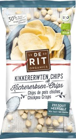 NEU: Kichererbsenchips Meersalz