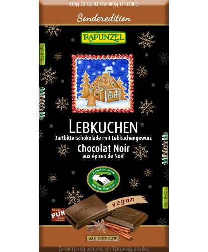 Zartbitterschokolade mit Lebkuchengewürz - Aktionspreis!