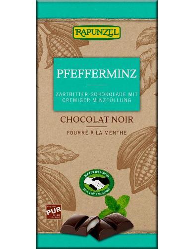 Zartbitterschokolade mit Minze - Einführungspreis!