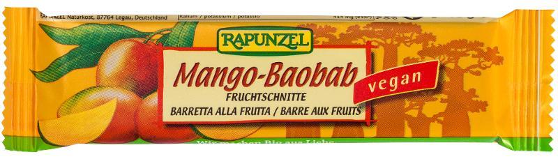 Fruchtschnitte Mango Baobab