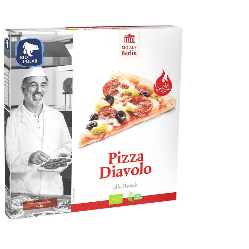 Pizza Diavolo (mild!!)