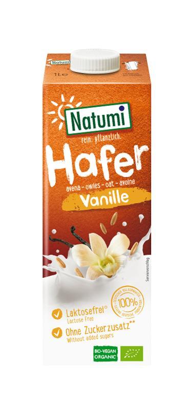 Haferdrink Vanille von Natumi