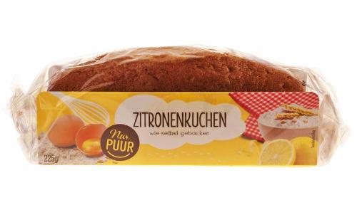 Zitronenkuchen von Nur Puur
