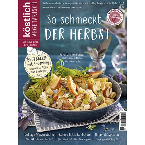 Magazin - köstlich vegetarisch - Ausgabe November / Dezember