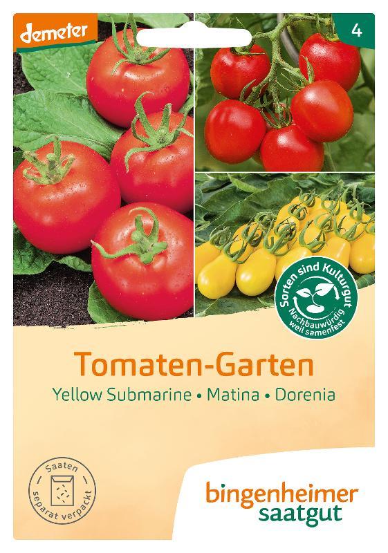 Saatgut Tomaten-Garten von Bingenheimer Saatgut