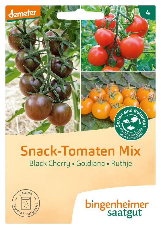 Saatgut Snack-Tomaten Mix von Bingenheimer Saatgut