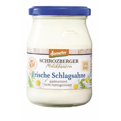Schlagsahne, 32% im Glas von Schrozberg