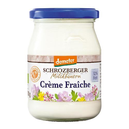 Creme fraiche 32%, im Glas von Schrozberg