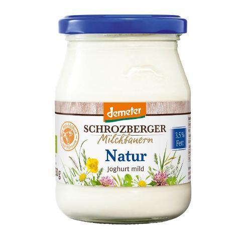Vollmilchjoghurt 3,5%, im Glas von Schrozberg