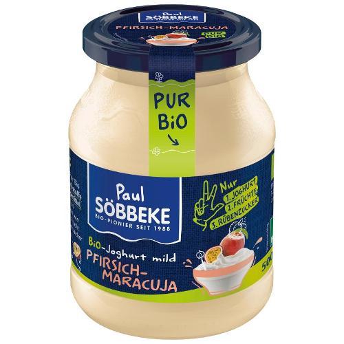 Joghurt Pur Pfirsich-Maracuja von Söbbeke