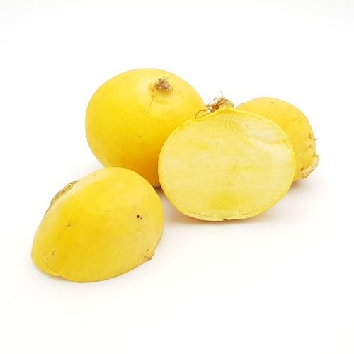 gelbe Rübchen Goldball