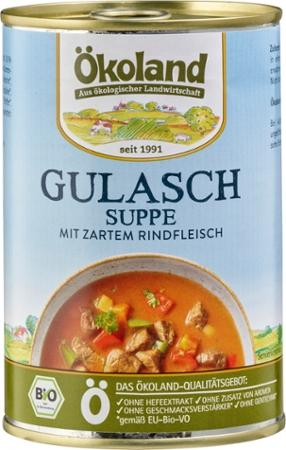 Gulaschsuppe ungarisch von Ökoland