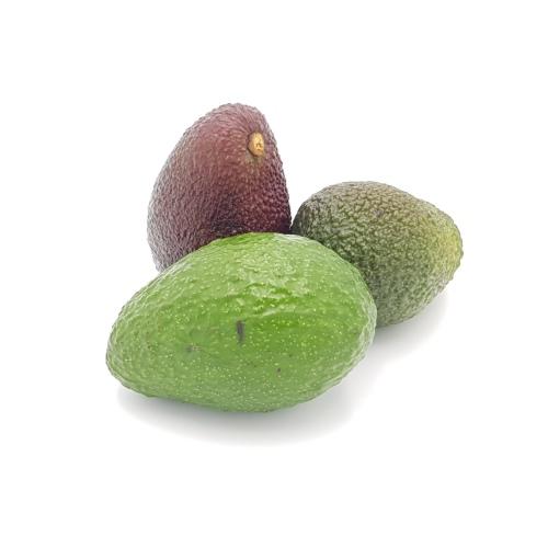 3 Mini-Avocados