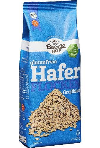 Haferflocken, Großblatt glutenfrei von Bauck