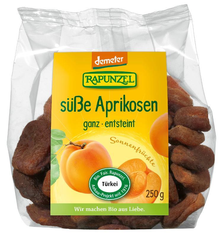 ganze Aprikosen, Demeter von Rapunzel