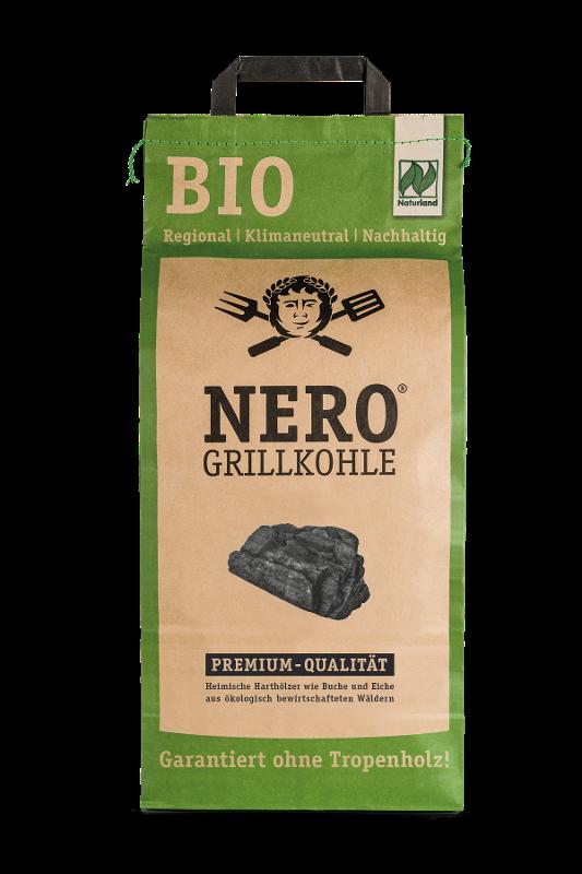 native Grillkohle von Nero