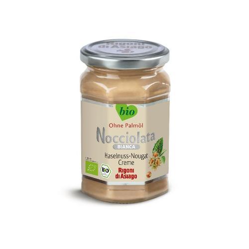 Nocciolata Bianca Nuss Nougat Aufstrich von Rigoni di Asiago