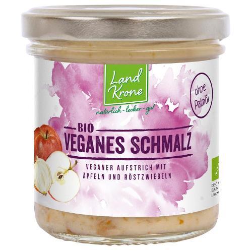 Veganes Schmalz mit Äpfeln und Röstzwiebeln von Landkrone