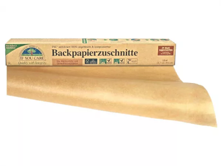 Backpapier  Zuschnitte von If you care