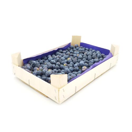 Heidelbeeren in der 1 kg-Kiste