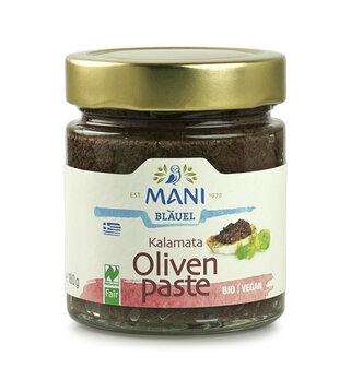 Kalamate Olivenpaste von Mani Bläuel